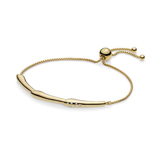PANDORA Shine™ Flower Stem CZ Sliding Bangle Bracelet