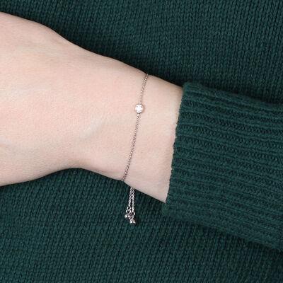 Ikuma Canadian Diamond Bolo Bracelet 14K
