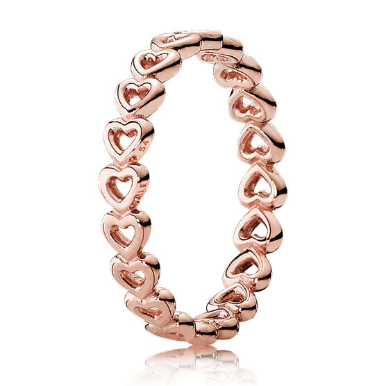 Pandora Rose™ Linked Love Ring