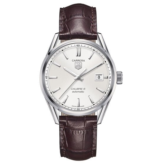 TAG Heuer Carrera Caliber 5 Brown Automatic Watch 39mm