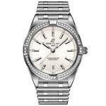 Breitling Chronomat 32 Diamond White Steel Watch, 32mm