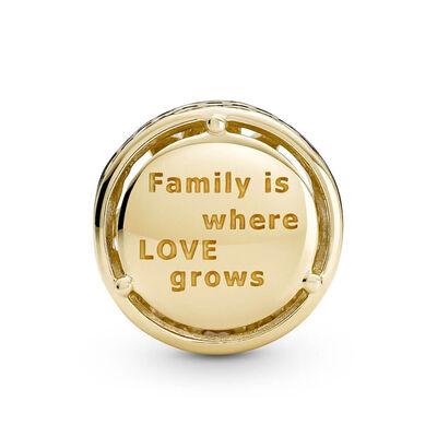 Pandora Openwork Family Roots Charm 14K