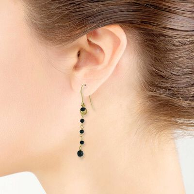 Lisa Bridge Spinel Earrings 14K