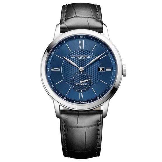 Baume & Mercier CLASSIMA 10480 Blue Dial Watch