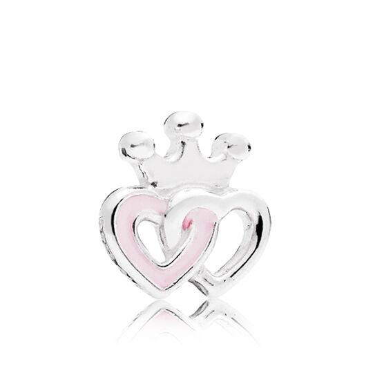 PANDORA Petite Locket Enamel Interlocking Hearts Charm