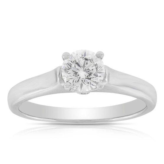 Signature Forevermark Diamond Solitaire Ring 18K