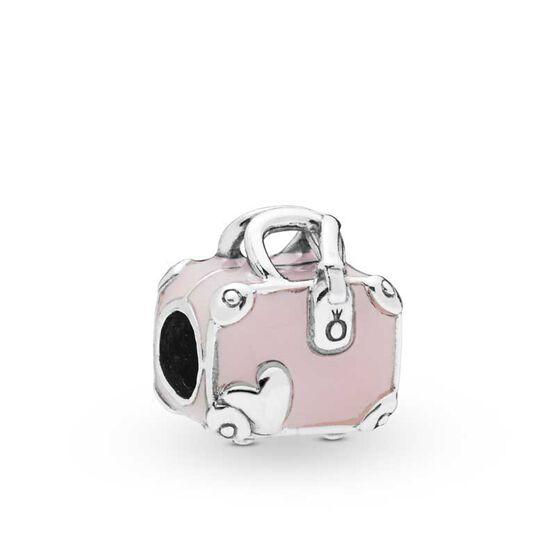 Pandora Pink Travel Bag Enamel Charm