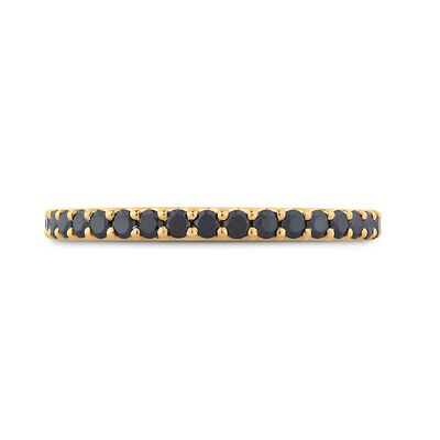 Bella Ponte Black Diamond Band 14K