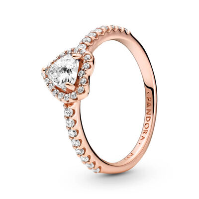 Pandora Engagement Promise Rings Unique Designs Including Halo Solitaire And More Ben Bridge Jeweler