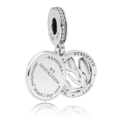 PANDORA International Women's Day CZ & Enamel Charm