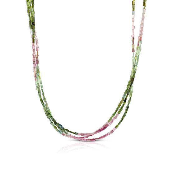 Lisa Bridge Tourmaline Tubes Necklace