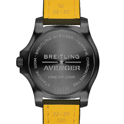 Breitling Avenger Automatic GMT 45 Night MIssion Watch, 45mm