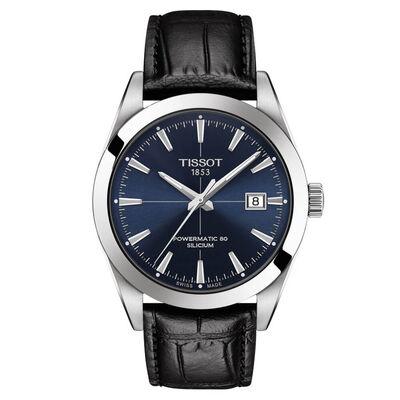 Tissot Gentleman Powermatic 80 Silicium Blue Dial Watch, 40mm