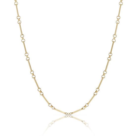 Toscano Bar Link Chain 18K