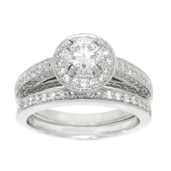 Ben Bridge Signature Diamond™ Wedding Set in Platinum