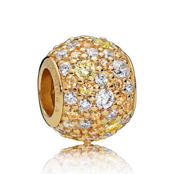Pandora Shine™ Golden Mix CZ Pavé Charm