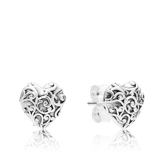 Pandora Regal Hearts Earrings