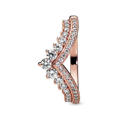 Pandora Rose™ Princess Wishbone CZ Ring