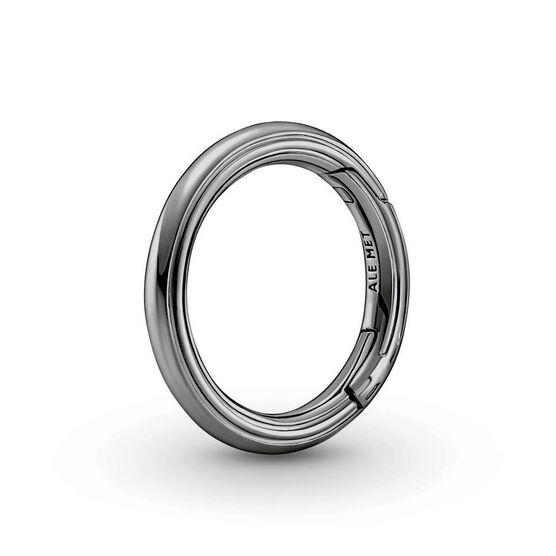Pandora ME Styling Round Ruthenium Link Connector