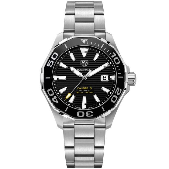 TAG Heuer Aquaracer Caliber 5 Ceramic Automatic Watch