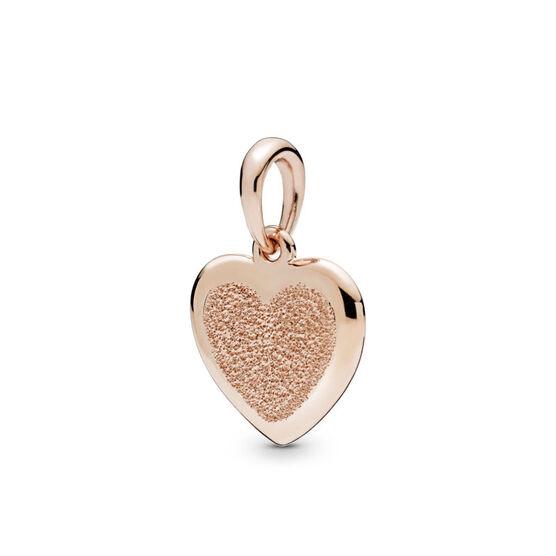 Pandora Rose™ Matte Brilliance Reversible Heart Pendant
