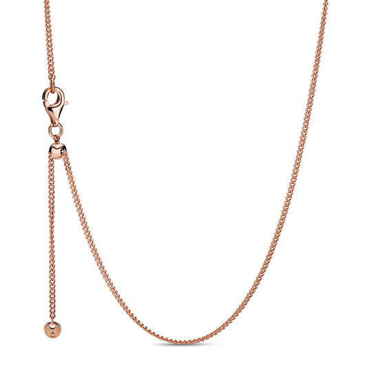 Pandora Rose™ Adjustable Curb Chain Necklace