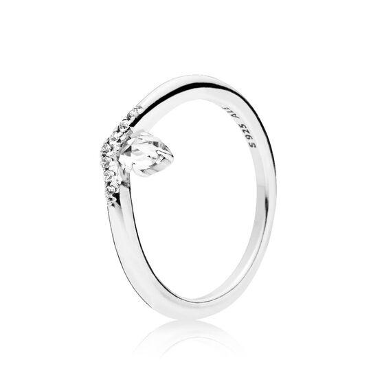 Pandora Classic Wish CZ Wishbone Ring