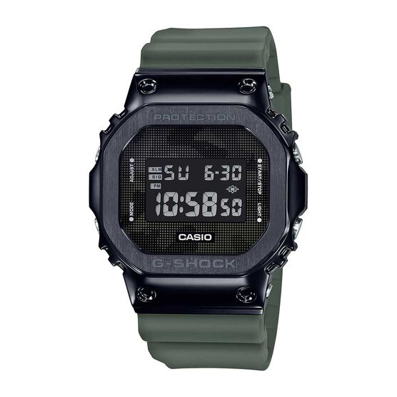 G-Shock Camo Stainless Steel Case Digital Watch