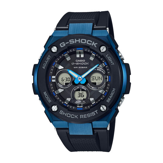 G-Shock G-Steel Blue-Detailed Analog Watch