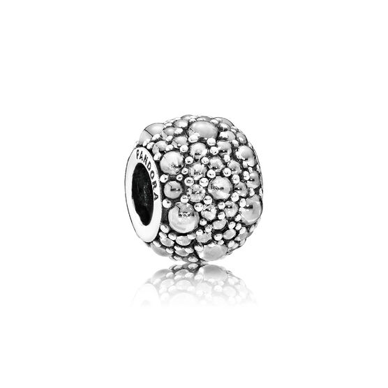 Pandora Clear Shimmering Droplets Charm
