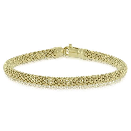 Toscano Popcorn Bracelet 14K