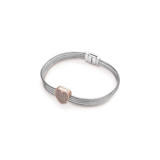 Pandora Rose™ Pandora Reflexions™ Pavé CZ Heart Bracelet Gift Set