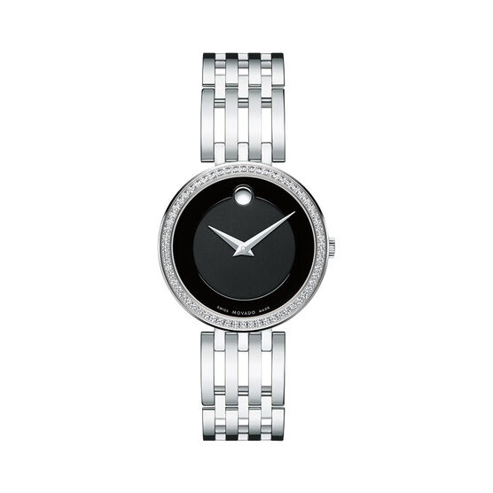 Movado Esperanza Diamond Bezel Watch, 28mm