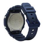 G-Shock Earth Tone Blue Octagon Bezel Watch, 48.5mm