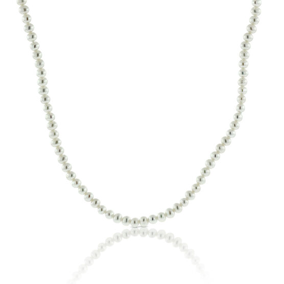 Cultured Freshwater Pearl Necklace 14K