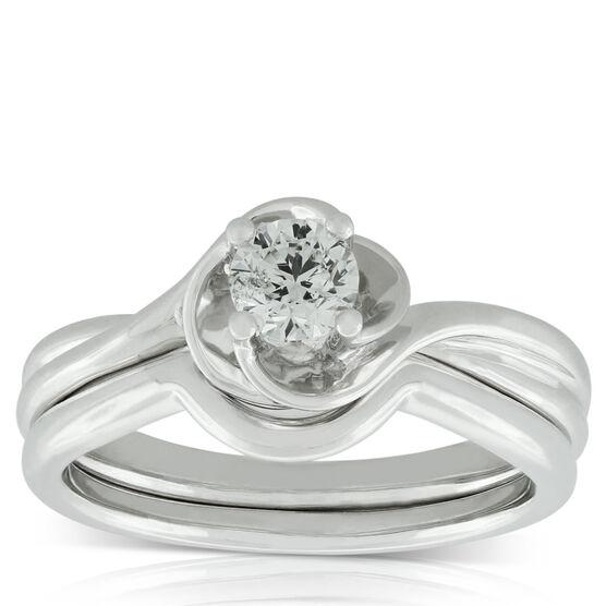 Diamond Bridal Set 14K, 3/8 ct.