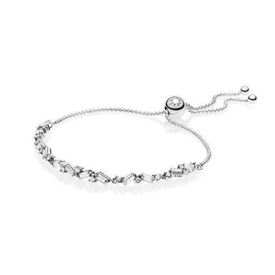 Pandora Glacial Beauty Sliding CZ Bracelet