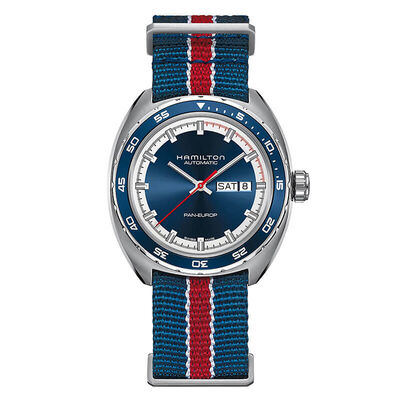 Hamilton Pan Europ Day Date Auto Watch, 42mm