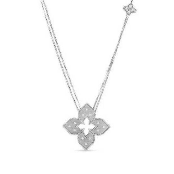 Roberto Coin Petite Venetian Princess Diamond Necklace 18K