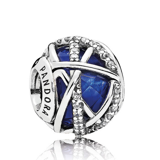 Pandora Galaxy Crystal & CZ Charm