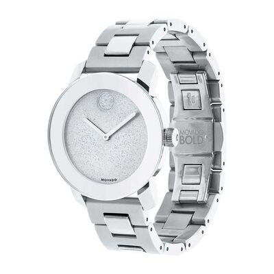 Movado Bold Glitter Dial Watch