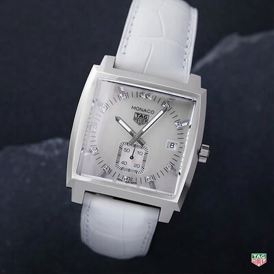 TAG Heuer Monaco Diamond Markers Quartz Watch