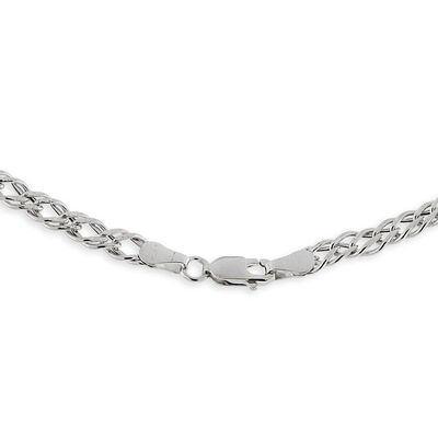 Double Curb Link Chain 14K, 18""