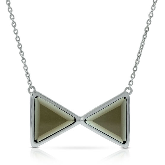 Lisa Bridge Bowtie Quartz Necklace