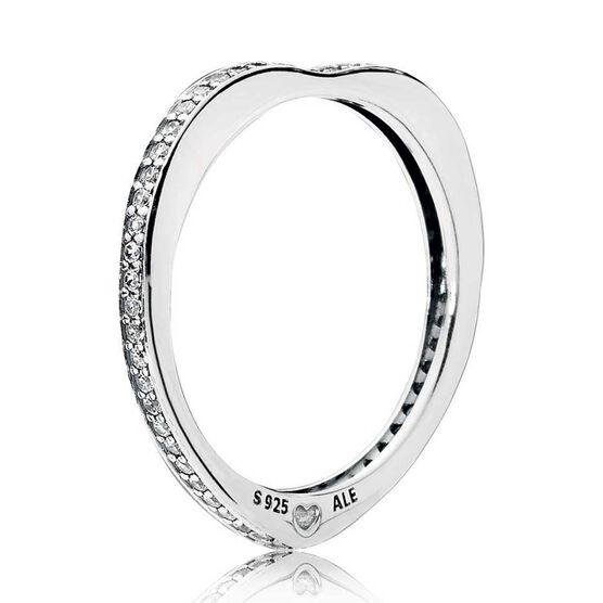 PANDORA Sparkling Arcs of Love CZ Ring