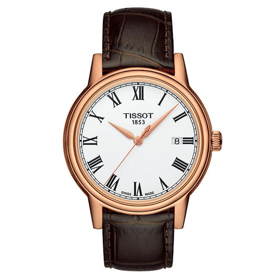 Tissot Carson T-Classic Rose Gold PVD Quartz Watch