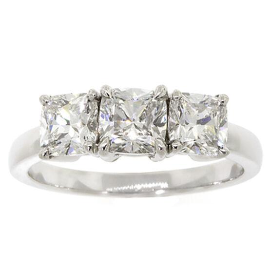 Ben Bridge Signature Diamond™ Cushion Cut Ring in Platinum