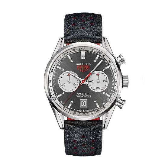TAG Heuer Carrera Caliber 17 Automatic Chronograph Watch 41mm