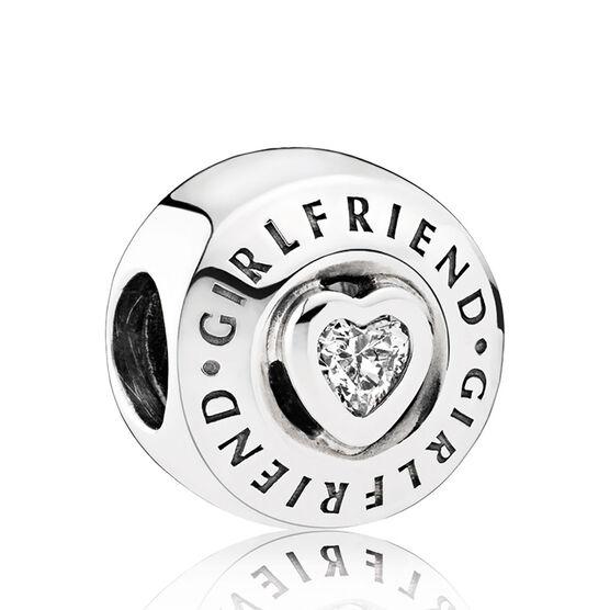Pandora Girlfriend CZ Charm