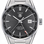 TAG Heuer Carrera Calibre 7 Twin-Time Automatic Watch, 41mm